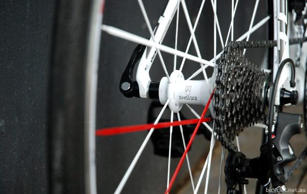 SwissSide Franc White Wheelset
