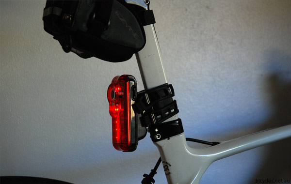 Mounting Fly6 Bike Light Camera