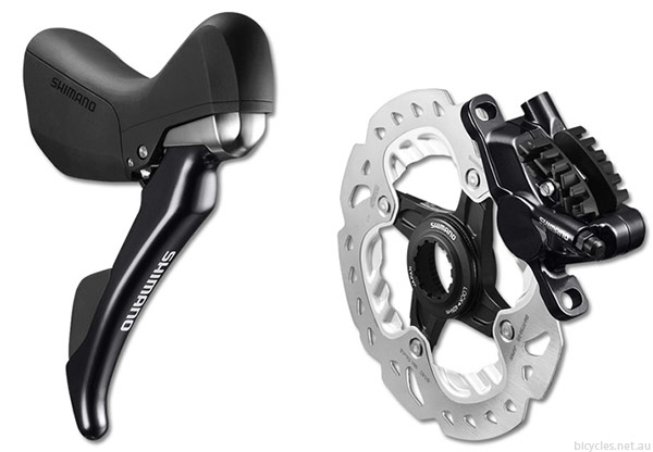 Shimano Road Cycling Mechanical Hydraulic Disc Brake