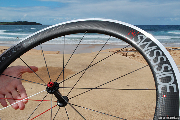 Swiss Side Hadron Carbon Fibre Wheelset Australia