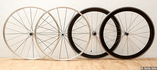 Swiss Side Wheelset Design Prototypes