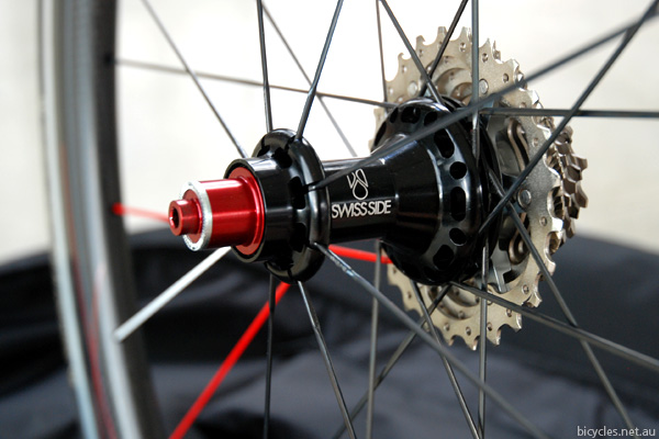 Swiss Side Hadron Wheelset