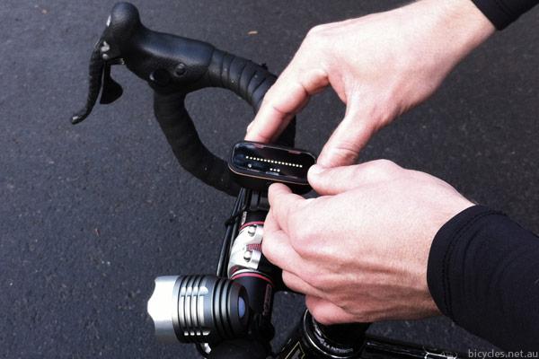 Backtracker Cycling Safety Warning