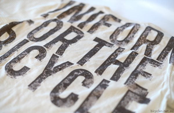 Bicycler Print T shirt