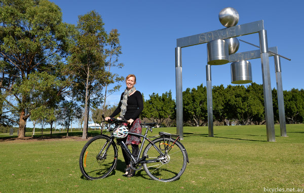 Sophie Bartho Advocacy Bicycling New South Wales