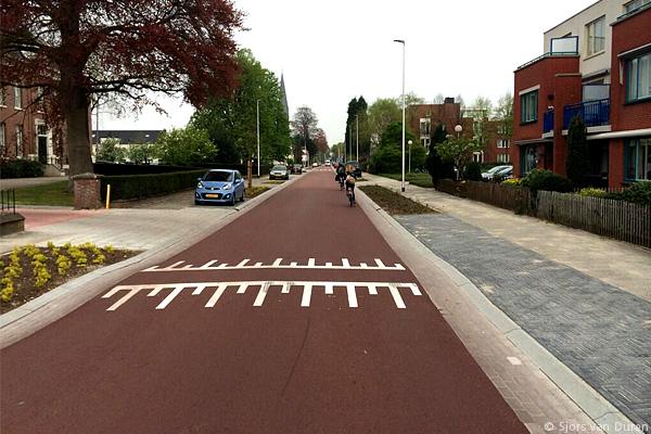 Dutch Urban Cycling Street