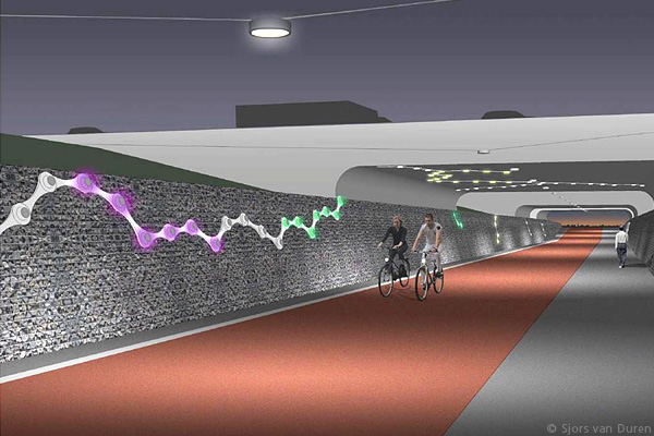 Intercity Cycle Transport Route