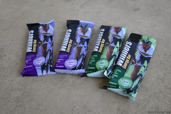 Cadel Evans Winners Bars Nutrition