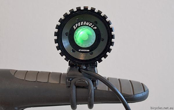 Speedwolf bike light battery