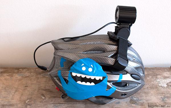 Speedwolf bike light helmet mount