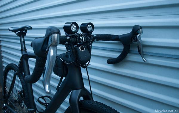 Speedwolf commuting mtb bike lights