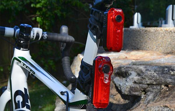 Testing fly6 bike camera