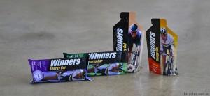 Winners Cycling Energu Bars Gels Nutrition