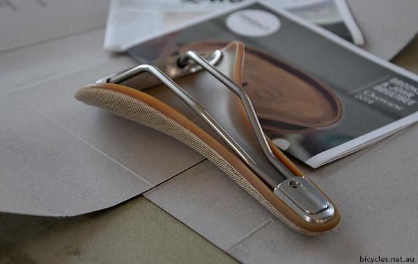 Brooks Cambium Saddle Wear In Tools