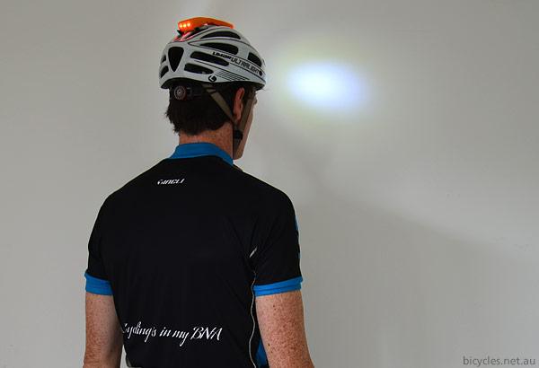 Front Rear Bike Helmet Light