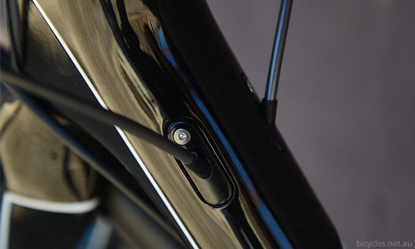 Internal Cables Bicycle