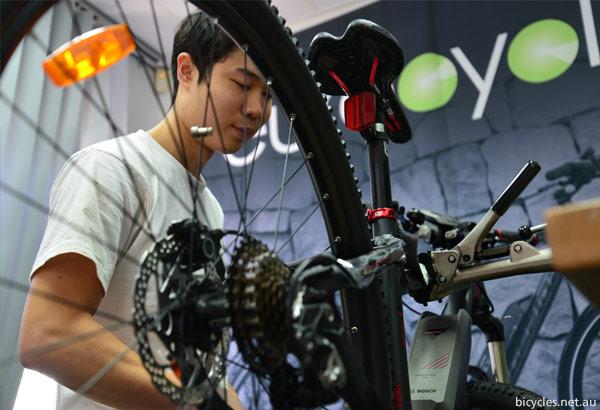 Service Assembly E-Bike