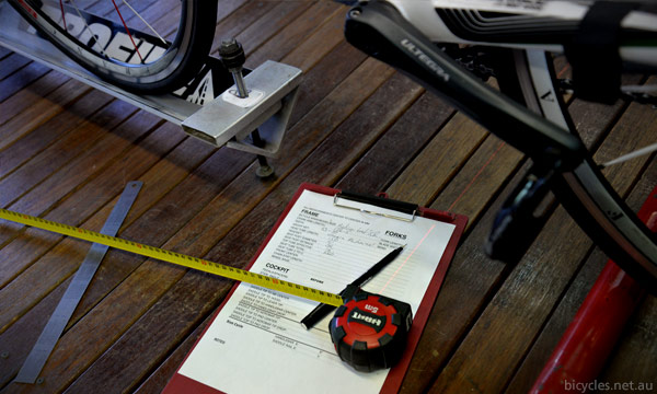 Bike Fitting Measurements