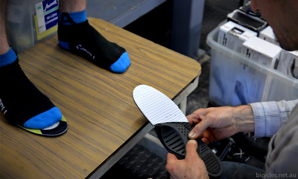 G8 modular Insoles cycling shoes