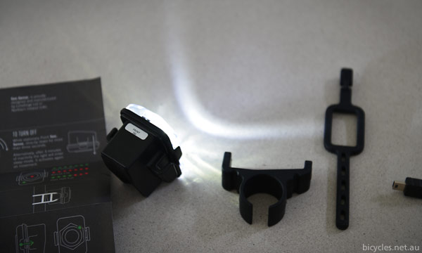Mounting Bike Light
