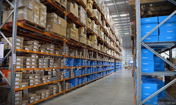 Shimano Logistics Dispatch