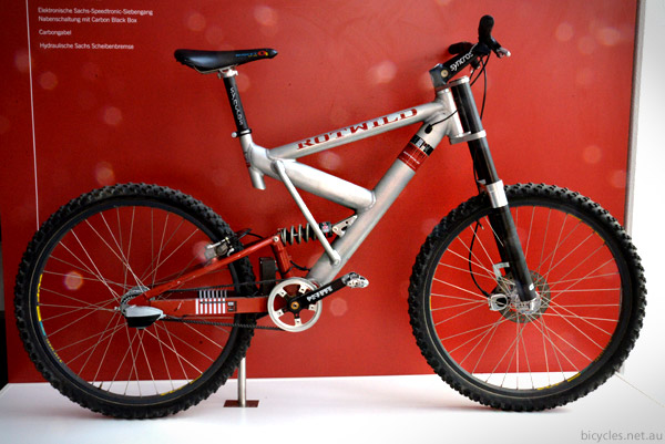 Innovative Mountain Bike Design