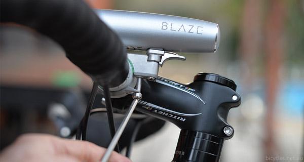 blaze light mounting