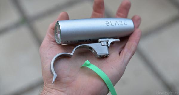 mounting blaze laser light