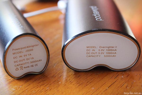 Powerpod Battery Capacity
