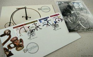 Australia Post Auspost bicycle stamps