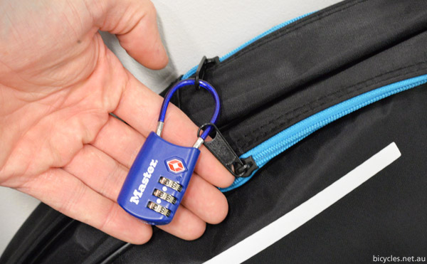 TSA approved luggage combination lock