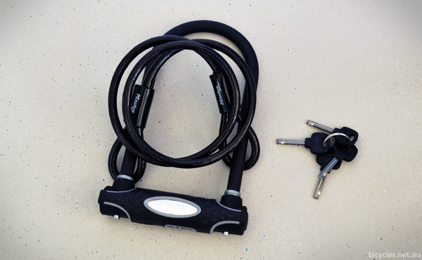 U-Lock Cable Lock Bicycle