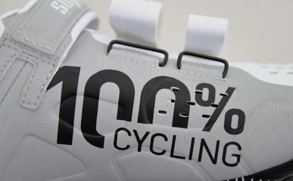 100 percent cycling reflective design