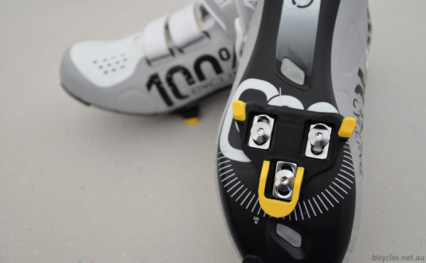 fitting shimano cleat cycling shoes