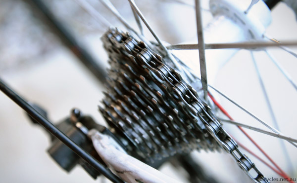 Clean Cassette Gear Changes