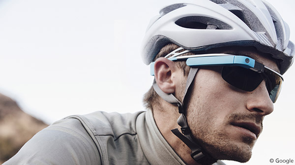Google Glass Cycling