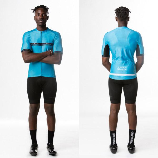 Pedal mafia Cycling jersey Aqua