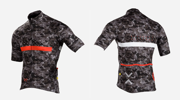 Pedla Full Gas Camo Cycling Jersey