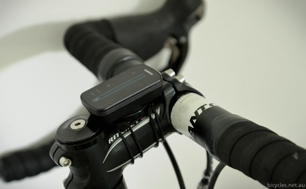 Varia Bike Radar Display