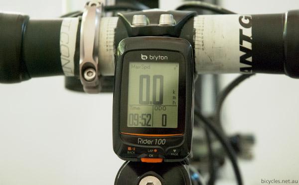 Bryton Rider 100 Bike Computer