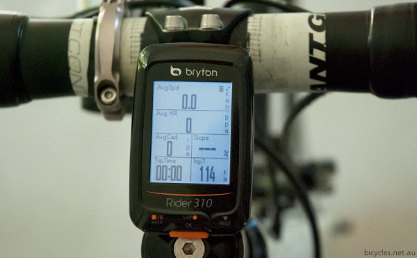 Bryton Rider 310 Cadence HRM