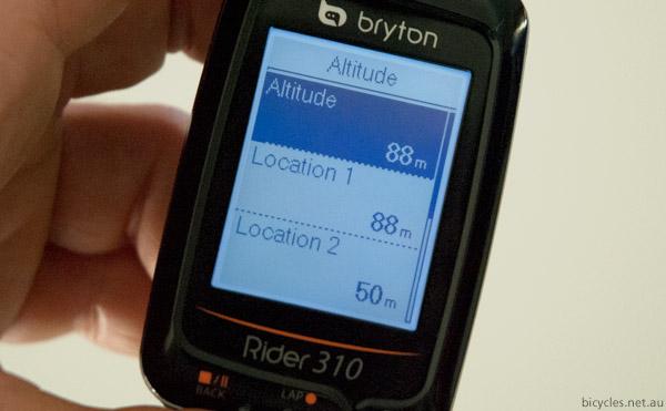 Bryton Rider Altitude