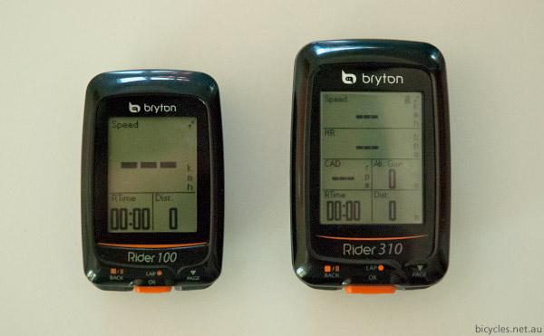 bryton rider GPS Computer Comparison