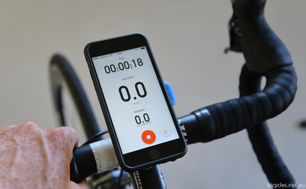 Strava iPhone Cycling