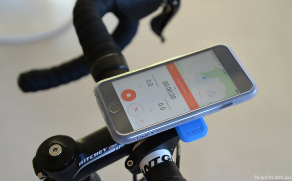 Waterproof iPhone Cycling