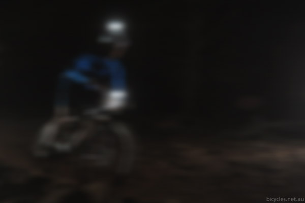 blurry vision cycling