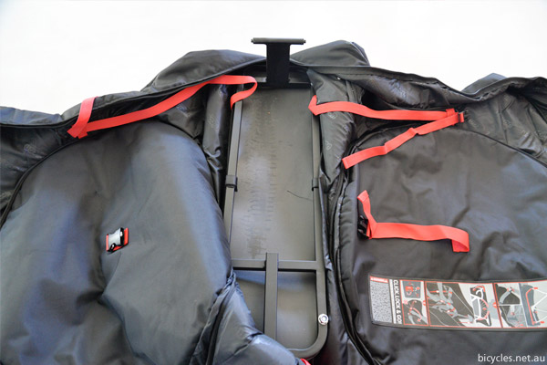 packing bike aeroplane