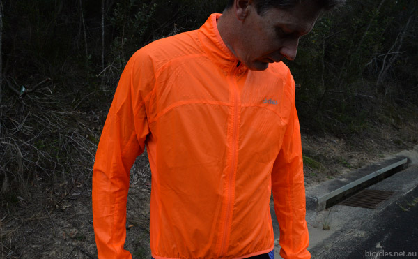 fluero cycling jacket
