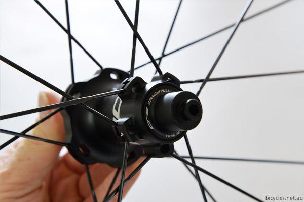 straight pull aero spokes