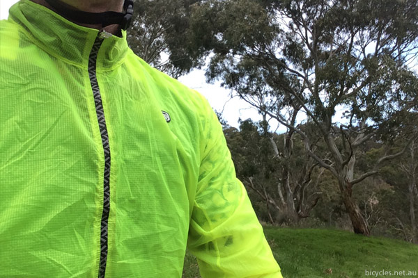 cycling rain jacket review